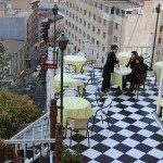 Een te gek terrasje